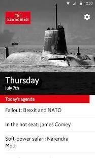 Androidアプリ「Economist Espresso」のスクリーンショット 1枚目