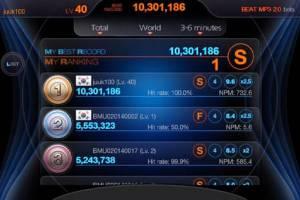 Androidアプリ「BEAT MP3 2.0 - リズムゲーム」のスクリーンショット 5枚目