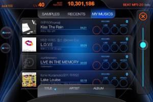 Androidアプリ「BEAT MP3 2.0 - リズムゲーム」のスクリーンショット 4枚目