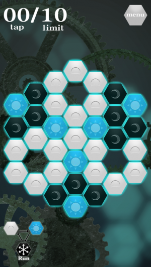 Androidアプリ「Hex-Puzzle」のスクリーンショット 2枚目