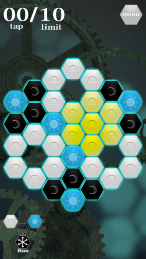 Androidアプリ「Hex-Puzzle」のスクリーンショット 3枚目
