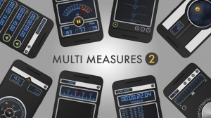 Androidアプリ「Multi Measures 2オールイン 1 ツールセット」のスクリーンショット 1枚目