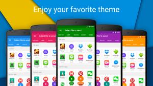 Androidアプリ「Xender – ファイル転送と共有」のスクリーンショット 1枚目