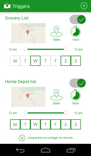Androidアプリ「WHEREvernote for Evernote」のスクリーンショット 1枚目