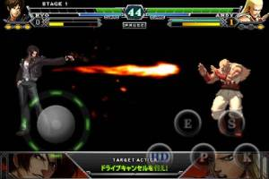 Androidアプリ「THE KING OF FIGHTERS-A 2012(F)」のスクリーンショット 3枚目