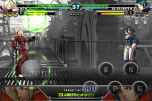 Androidアプリ「THE KING OF FIGHTERS-A 2012(F)」のスクリーンショット 4枚目