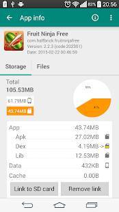 Androidアプリ「Link2SD Plus (New)」のスクリーンショット 2枚目