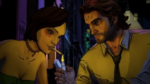 Androidアプリ「The Wolf Among Us」のスクリーンショット 4枚目