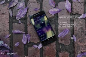 Androidアプリ「音楽プレーヤー」のスクリーンショット 2枚目