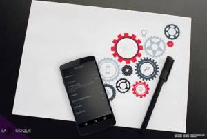 Androidアプリ「音楽プレーヤー」のスクリーンショット 4枚目