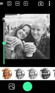 Androidアプリ「BlackCam Pro - B&W Camera」のスクリーンショット 1枚目