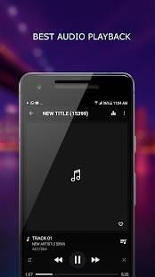 Androidアプリ「MP3プレーヤー」のスクリーンショット 1枚目