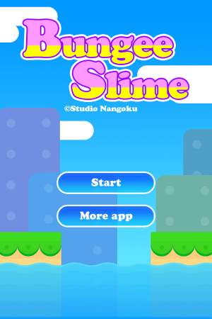 Androidアプリ「Bungee Slime」のスクリーンショット 1枚目