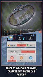 Androidアプリ「Motorsport Manager Mobile」のスクリーンショット 4枚目