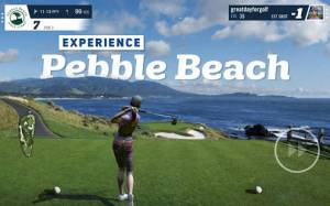 Androidアプリ「WGT Golf」のスクリーンショット 1枚目