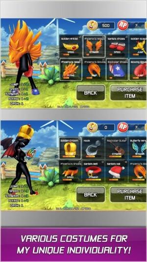 Androidアプリ「RUN'n'FLY」のスクリーンショット 3枚目