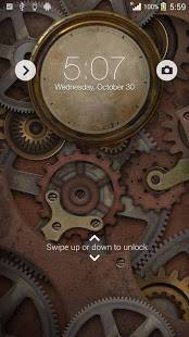 Androidアプリ「XPERIA™ Steampunk Theme」のスクリーンショット 2枚目