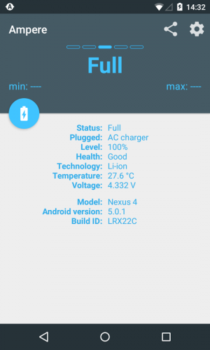 Androidアプリ「Ampere」のスクリーンショット 5枚目