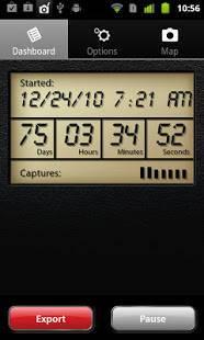 Androidアプリ「gps4cam」のスクリーンショット 2枚目