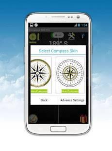 Androidアプリ「コンパス360 Proの(ベストアプリ)Compass」のスクリーンショット 5枚目