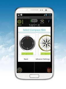 Androidアプリ「コンパス360 Proの(ベストアプリ)Compass」のスクリーンショット 3枚目