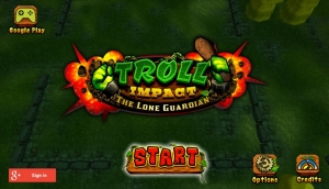 Androidアプリ「Troll Impact The Lone Guardian」のスクリーンショット 1枚目