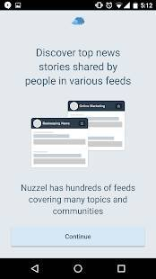 Androidアプリ「Nuzzel: News for Busy Professionals」のスクリーンショット 4枚目