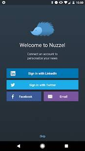 Androidアプリ「Nuzzel: News for Busy Professionals」のスクリーンショット 5枚目