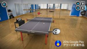 Androidアプリ「Table Tennis Touch」のスクリーンショット 1枚目