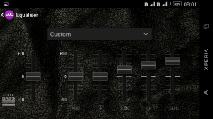 Androidアプリ「Leather KitKat eXPERIAnz Theme」のスクリーンショット 5枚目