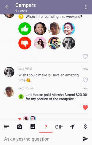 Androidアプリ「Dasher Messenger」のスクリーンショット 4枚目