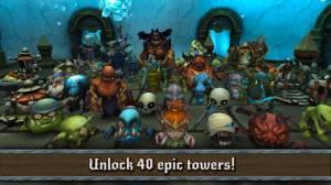 Androidアプリ「Beast Towers TD」のスクリーンショット 2枚目