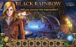 Androidアプリ「Black Rainbow HD (Full)」のスクリーンショット 1枚目
