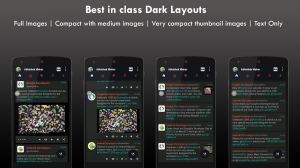 Androidアプリ「Blaze for Twitter pro」のスクリーンショット 2枚目