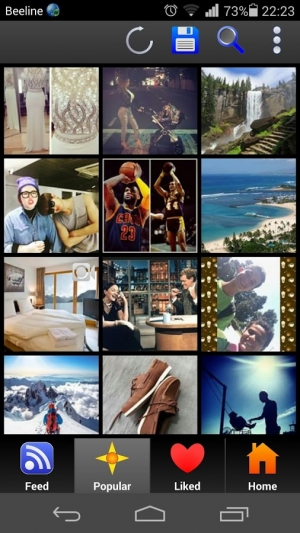 Androidアプリ「Photo Saver For Instagram」のスクリーンショット 1枚目