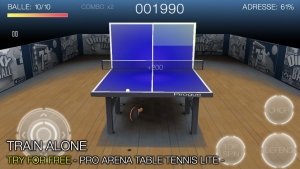 Androidアプリ「Pro Arena Table Tennis」のスクリーンショット 2枚目