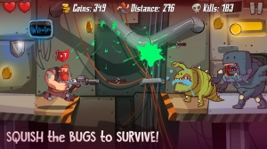 Androidアプリ「SpaceBeard - Survival Shooter」のスクリーンショット 5枚目