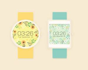 Androidアプリ「Springtime watchface by Mowmow」のスクリーンショット 3枚目