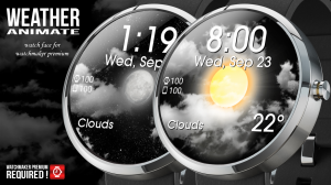 Androidアプリ「Weather Animate for Watchmaker」のスクリーンショット 2枚目