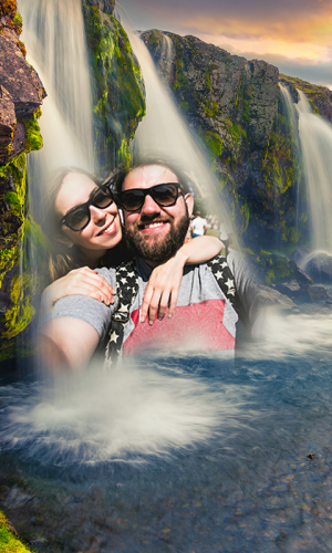 Androidアプリ「Waterfall Photo Frames」のスクリーンショット 3枚目