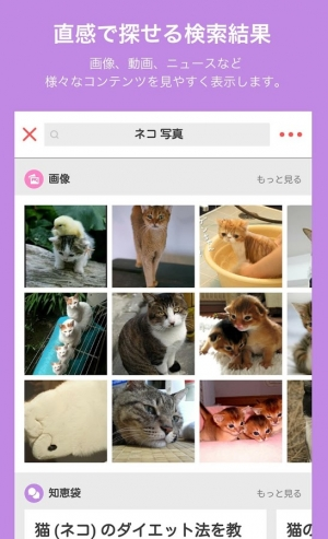 Androidアプリ「SmartSearch from Yahoo!検索」のスクリーンショット 2枚目