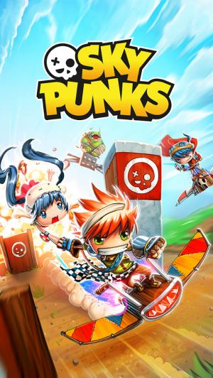Androidアプリ「Sky Punks: Endless Runner」のスクリーンショット 1枚目