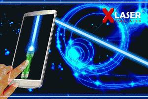 Androidアプリ「X-レーザー モバイルXレーザーポインター」のスクリーンショット 5枚目