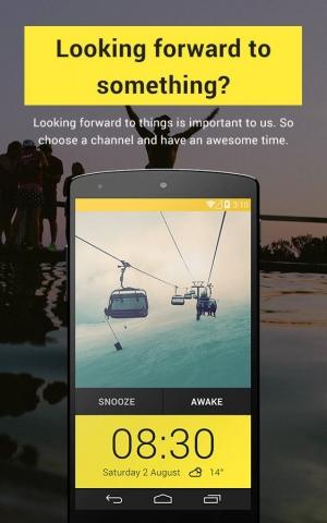 Androidアプリ「Newday Photo Alarm Clock」のスクリーンショット 4枚目