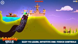 Androidアプリ「Dragon Hills」のスクリーンショット 2枚目