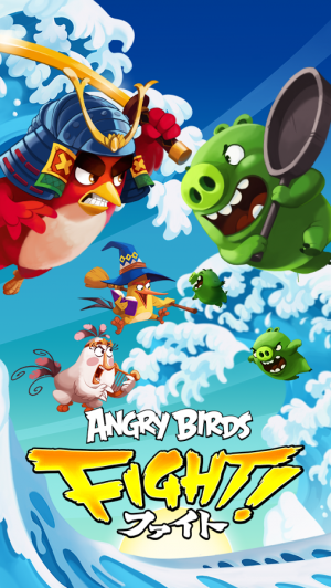 Androidアプリ「Angry Birds Fight! RPG Puzzle」のスクリーンショット 1枚目