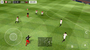 Androidアプリ「First Touch Soccer 2015」のスクリーンショット 4枚目