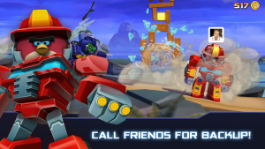 Androidアプリ「Angry Birds Transformers」のスクリーンショット 3枚目