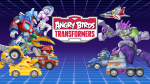 Androidアプリ「Angry Birds Transformers」のスクリーンショット 5枚目