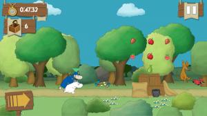 Androidアプリ「Moomin Adventures: Jam Run」のスクリーンショット 3枚目